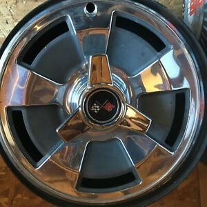 Corvette Wheels Hubcaps And Spinners 1965 66