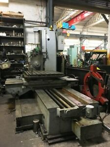 Tos 3 15 Table Type Horizontal Boring Mill
