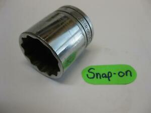 Snap On Tools 1 2 Drive 1 5 16 Sae 12 Point Socket Sw421