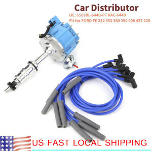 For Ford Fe 332 352 360 390 406 427 428 Car Auto Distributor 6508bl 644b Pt