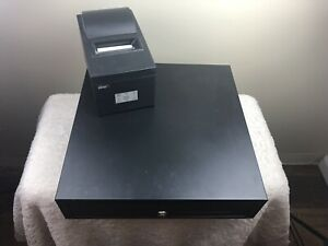 Star Sp500 Pos System Serial Dot Matrix Receipt Printer Tested Cash Drawer