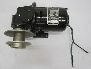Bodine Electric Speed Gear Reduction Motor Type Nsi 12rg 1 70 Hp 360 1 115v J1