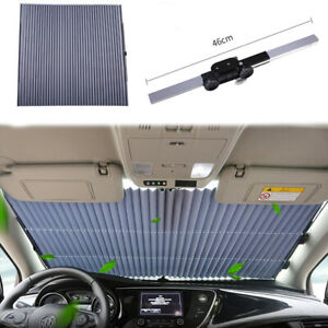 Retractable Car Windshield Sun Shade Window Block Cover Visor Uv Protection