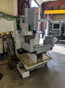 Used Haas Tm 1 Cnc Vertical Machining Center Mill Machine Ct40 10 Station Atc 04