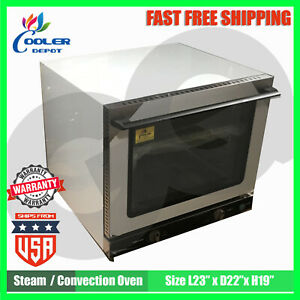 Convection Steam Oven Commercial Kitchen Resturant Bakery Electric Countertop