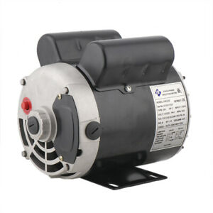 New2 Hp Spl Compressor Duty Electric Motor 3450 Rpm 56frame 5 8 Shaft 115 230v