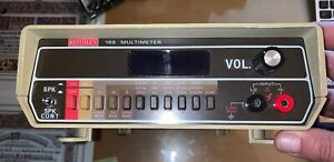 Keithley 169 Multi meter Parts Only Outside Is Cosmetically Great