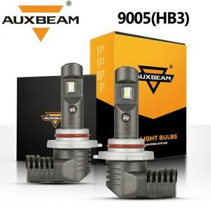Auxbeam Led Headlight Kit High Beam 9005 Hb3 6000k Bulbs 60w 7600lm Conversion
