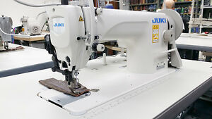 Juki Du 1181n Single Needle Walking Foot Leather Sewing Machine Assembled