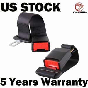 2pcs 14inch Universal Car Seat Seatbelt Safety Extender Auto Car Belt Extension