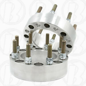 X2 8x170 To 8x200 2 Wheel Spacers 8 Lug Adapter For Ford F250 f350 99 19