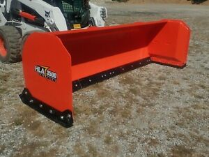 New Hla 3500 Series 10 Snow Pusher For Skid Steers Ssl Quick Attach Fits Many