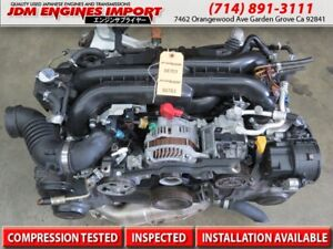 Jdm Subaru Legacy Gt Forester Xt Baja Turbo Engine 04 06 Replacement For 2 5l