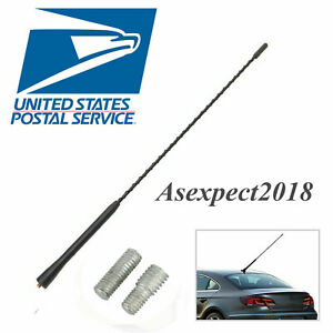 Usps New 16 Universal Car Antenna Long Whip Style Radio Am fm Antena Roof Mast