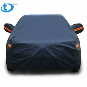 Size 3m Full Car Cover Breathable Outdoor Indoor Waterproof Universal Fit