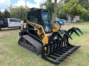 Asv Rt60 Track Skid Steer Loader A c Cab
