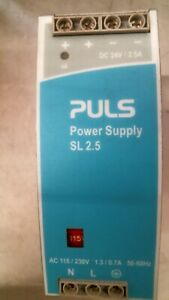 Puls Sl2 100 Power Supply 24vdc 2 5a free Shipping
