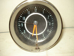 C 2 Corvette 1964 Clock Manuf Borg g m Quartz Conversion