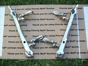 1932 Ford Pair Of Windshield Stanchions W windwing Parts For Roadster Phaetons