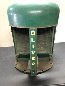 Oliver 66 77 Tractor Radiator Radiator Support Nose Cone Grille Shell M225