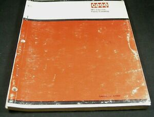 Case W5 Unit Loader Tractor Parts Manual Book Catalog List A1029 Oem