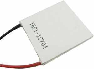 Tec1 12704 40x40mm Thermoelectric Cooler Peltier Plate Module 15v Cpu