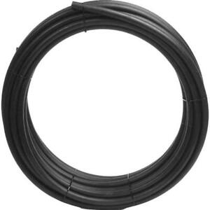 Flexible Pipe And Tubing 100 ft Polyethylene Nsf Poly Pipe Barb Connection Black