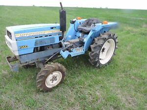 Mitsubishi Mte2000d 4x4 Tractor For Parts i Am Selling Parts Off This Tractor