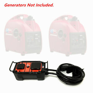 All Power America Apg2000ipk 30a 50a Rv Inverter Generator Parallel Kit Adapter