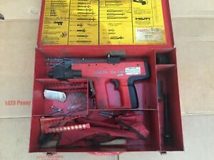 Hilti Dx451 Powder Actuated Tool With Case And Accessories