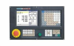 3 Axis Cnc Milling Controller System 8 Lcd For Milling boring Machine Steppe Hk