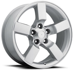 1 20 Silver Replica Lightning Wheels Rims Fits For Ford 1997 2004 F150