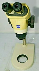 Zeiss Stemi 2000 Stereo Microscope With Stand