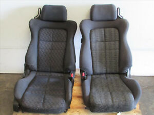 Jdm 94 99 Mitsubishi Gto 3000gt Vr4 Rhd Oem Front Cloth Power Seats