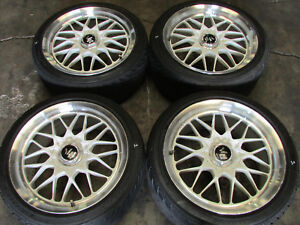Jdm Rays Volk Racing Evo4 Staggered Wheels 18x9 18x10 Et46 46 18 5x114 3 Rims