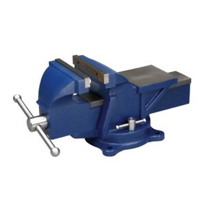 Wilton 11105 General Purpose 5 Jaw Bench Vise With Swivel Base