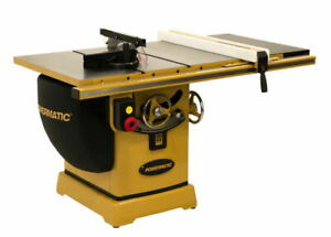 Powermatic Pm25330k 2000b Table Saw 5hp 3ph 230 460v 30 Rip W accu fence