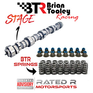 Btr Ls Truck 4 8 5 3 6 0 Stage 1 Camshaft Kit Brian Tooley Cam Springs Hat Seals