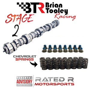 Btr Ls Truck 4 8 5 3 6 0 Stage 2 Cam Kit Chevy Springs Btr Cam Hat Seals