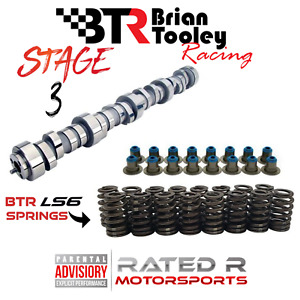 Btr Ls Truck Stage 3 Camshaft Kit Brian Tooley Cam Ls6 Springs Hat Seals 5 3 6 0