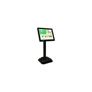 Bematech 8 In Lcd Pole Display Usb Interface Black