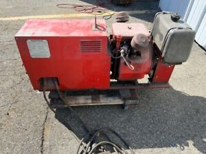 Lincoln Gas Welder Ac dc And Ac Power Generator