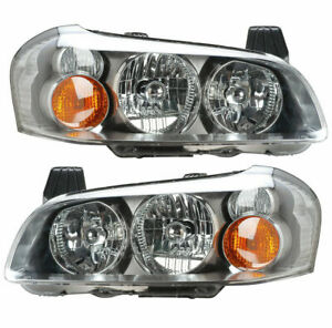 2002 2003 Fits For Ns Maxima Headlight W Hid Pair Right Left Side
