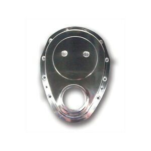 Big End Performance 70082 Small Block Chevy Aluminum Timing Chain Cover