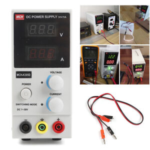 30v 5a Adjustable Digital Regulated Dc Power Supply Lcd Dual Digital Display