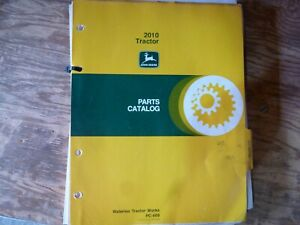 John Deere 2010 Tractor Parts Catalog Manual Book Original Pc 689