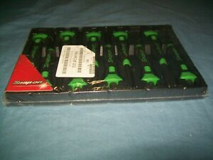 New Snap On Ppcsg710 10 Piece Punch Chisel Set Green Soft Grip Sealed