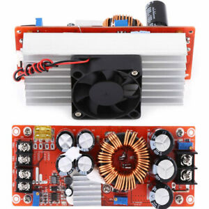 New 1500w 30a Dc dc Boost Converter 10 60v To 12 90v Step Up Power Supply Module