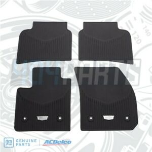 2019 2020 Cadillac Xt4 Front Rear All Weather Floor Mats Genuine Gm 84119592