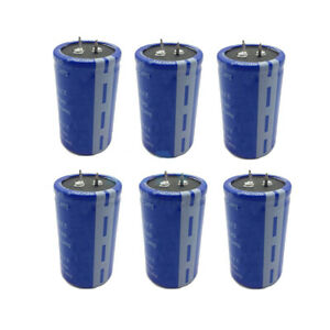 6 Pcs Farad Capacitor 2 7v 500f Super Capacitance Without Protection Board